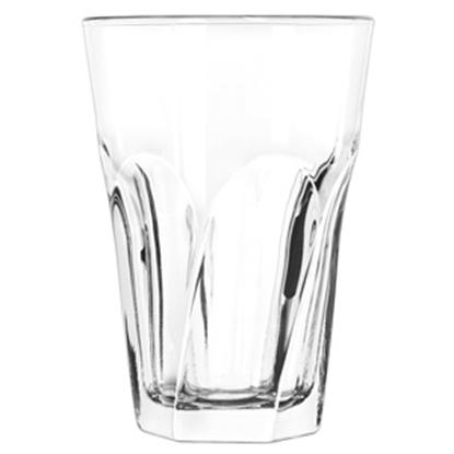Picture of Libbey 15754 14 oz. Gibraltar Twist Beverage Glass -48/Case (GC300-15754)