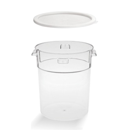 Picture of Food Storage Container Polycarbonate with Lid 18L D31.5xH38 cm. - (GC226-8660)