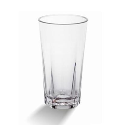 Picture of Polycarbonate Quadra Beverage Glass 12.5 oz. D8xH14 cm. (GC226-8837)