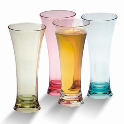 Picture of Polycarbonate Flare Pilsner Glass 10 oz. D8xH18 cm. (GC226-8533-CLEAR)