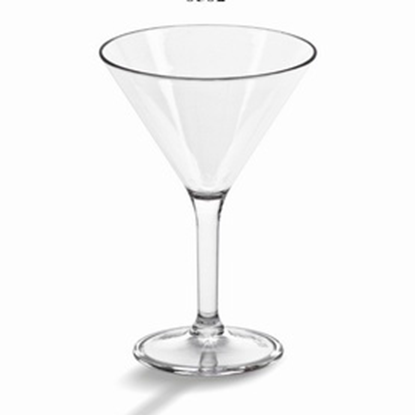 Picture of Polycarbonate Martini Glass 10 oz. D11.8xH16.8 cm. (GC226-8582)