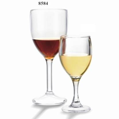 Picture of Polycarbonate Red Wine Glass Cheerful 9 oz. D7.8xH18.8 cm. (GC226-8584)