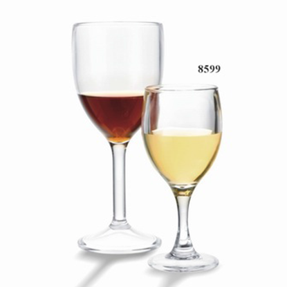 Picture of Polycarbonate White Wine Glass 5 oz. D5.5x14 cm. (GC226-8599)