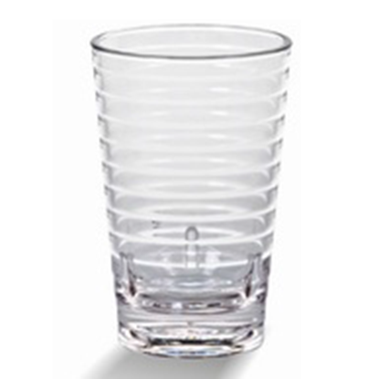 Picture of Polycarbonate Casual Stackable Tumbler 355 ml. D8xH13 cm. (GC226-8879-CLEAR)