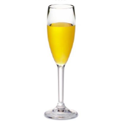 Picture of Polycarbonate Champagne Glass 5 oz. D5xH22 cm. (GC226-8858)