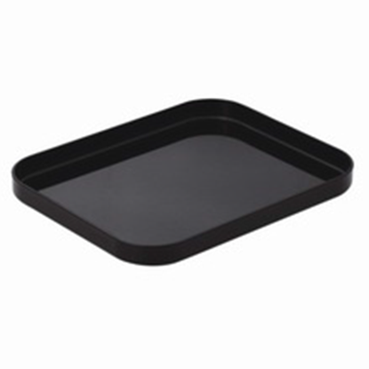 Picture of Bathroom Amenities Tray, Black Color L20xW25xH2.5 cm. (GC226-8408-BLACK)