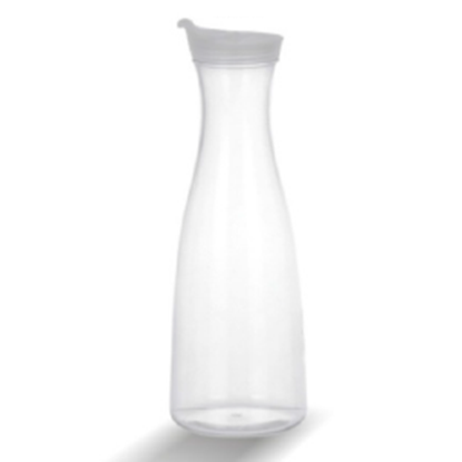 Picture of Polycarbonate Juice Decanter with Lid 1580 ml. D6.5xH31.5 cm. (GC226-8550)