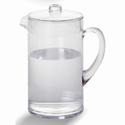 Picture of Polycarbonate Water Pitcher With Lid 2290 ml. D12.5xH22 cm. (GC226-8569)