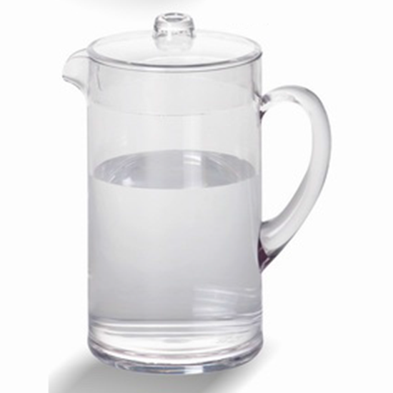 Picture Of Polycarbonate Water Pitcher With Lid 2290 Ml D12 5xh22 Cm Gl
