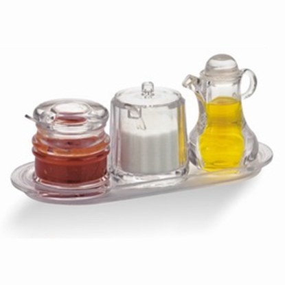 Picture of Acrylic 4 Pieces Set For Condiment  (GC226-651)