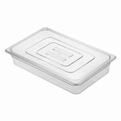 Picture of Polycarbonate Gastronorm Pan 1/1 Lid, L53xW32.5xH2.8 cm. (GC226-8600)