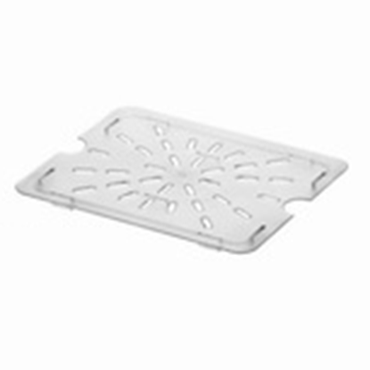 Picture of Polycarbonate Gastronorm Pan Drainer Plate 1/2, L25.7xW19.8xH1.4 cm. (GC226-8633)