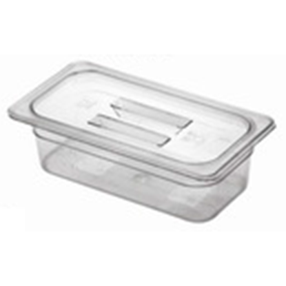 Picture of Polycarbonate Gastronorm Pan 1/3 Lid, L32.5xW17.5xH2.7 cm. (GC226-8602)