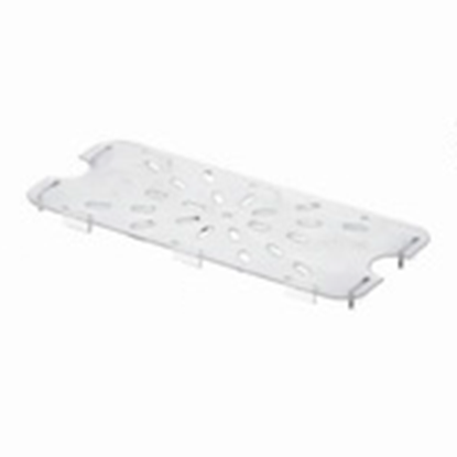 Picture of Polycarbonate Gastronorm Pan Drainer Plate 1/3, L26xW11xH1.4 cm. (GC226-8634)