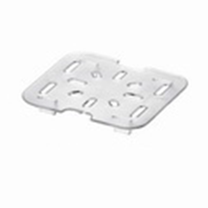 Picture of Polycarbonate Gastronorm Pan Drainer Plate 1/6, L11.2xW10xH1.4 cm. (GC226-8636)