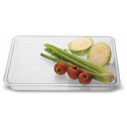 Picture of Polycarbonate Food Preparation Pan, Clear Color L49.5xW39.5xH5 cm. (GC226-8471)