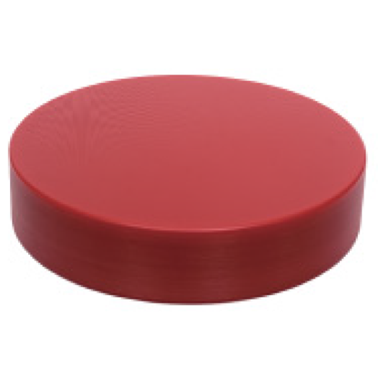 Picture of Polyethylene Round Cutting Board Red D45.0x5.0 cm. (GC086-1400-RED)