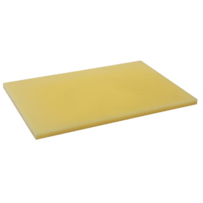 Picture of Polyethylene Cutting Board Yellow L58.0xW38.0xH2.0 cm. (GC086-1500-YELLOW-58X38X2)