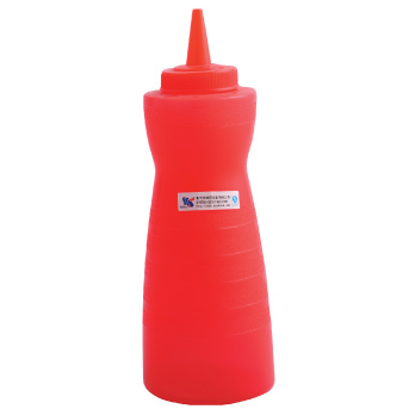 Picture of Squeeze Bottle Red D7.4xH22.3 cm. 18 oz. (GC086-A-1003-RED)