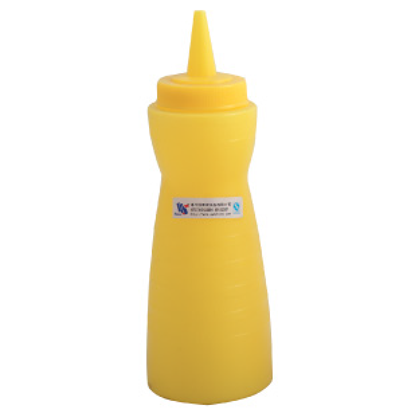 Picture of Squeeze Bottle Yellow D7.4xH22.3 cm. 18 oz. (GC086-A-1003-YELLOW)