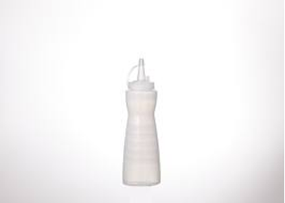 Picture of Squeeze Bottle With Ring Cover White  D8.4xH24.3 cm. 24 oz. (GC086-A-1004-1-WHITE)