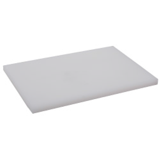 Picture of เขียงพลาสติกสี่เหลี่ยมผืนผ้าสีขาว L48.0xW33.0xH2 cm. (GC086-1500-WHITE-48X33X2)