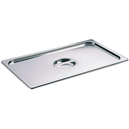 Picture of S/S Gastronorm Pan 1/2 Lid L32xW26.5 cm. (GC123-LF101340-1)