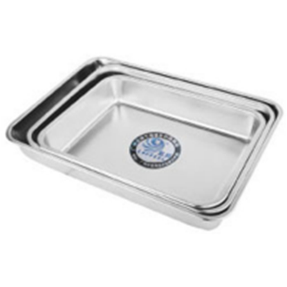 Picture of Stainless Steel Tray L40xW29xH6.2 cm. (GC123-LF101456)