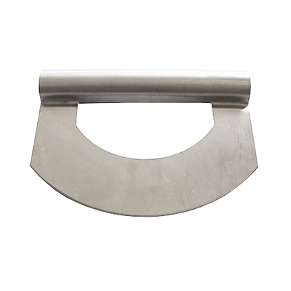 Picture of Dough Scraper Round Stainless Steel L15xW11 cm. (GC280-8127)