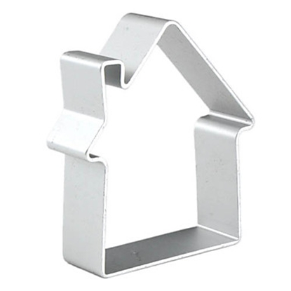Picture of Cookie Cutter House Shape L6xW5.5xH1.7 cm. (GC280-8251-F18)