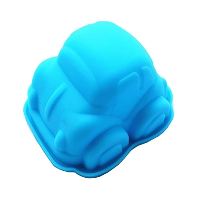 Picture of Silicone Chocolate Mould Cute Beetle Car L9.5xW8.5xH5.5 cm. (GC280-9267)