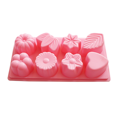 Picture of Silicone Chocolate, Jelly and Baking Mold 8 Cavities L23xW12 cm. (GC280-8468-2)