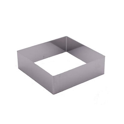 "Picture of 10"" Square Cake Ring 304S/S (GC280-8079-3)"