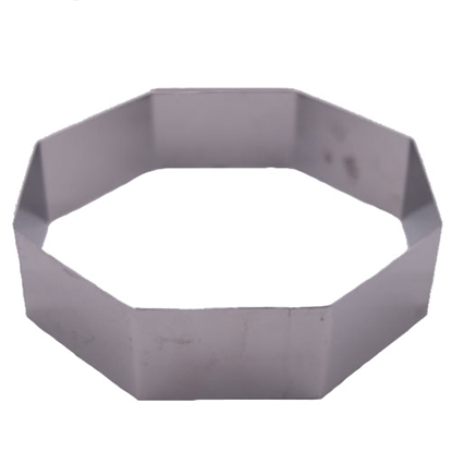 "Picture of 8""Octagonal Cake Ring 304S/S (GC280-8078-7)"