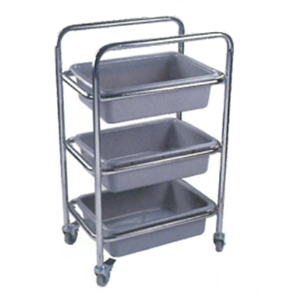 Picture of Dish Collecting Cart Stainless Steel L60xW40xH98 cm. (GC119-KDL-A137)