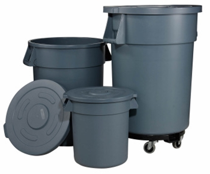 Picture of Circular Garbage Can D49.2×H58.4 cm. 75.7 Liter. (GC216-JW-CR76E)
