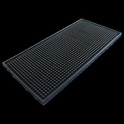 Picture of Service Mat - Bar Mat Black L30xW15xH1 cm. (GC216-JW-GSM-BLACK)