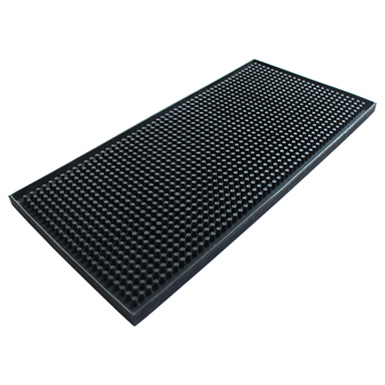 Service Mat Bar Mat Black L30xw15x1 Cm Grazip