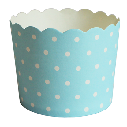 """Picture of Cup Cake 3"""" Dotted Pattern - 25 Pcs/Set (GC280-JM-22)"""