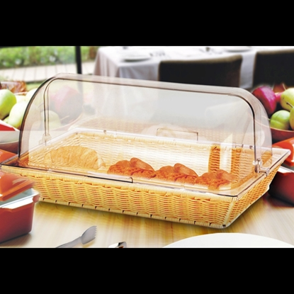 Picture of Food Display Roll Top Lid High Series L53.6xW36.2xH17.6 cm. (GC138-88189)