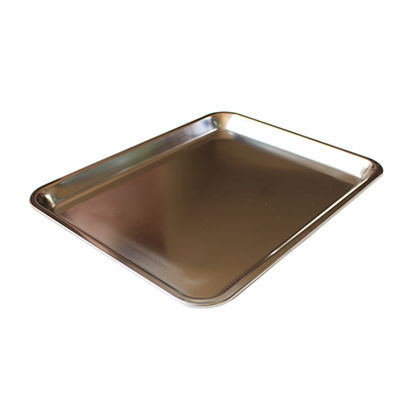 Picture of Stainless Steel Party Dish L30.5xW23.2xH2 cm. (GC123-LF101436)