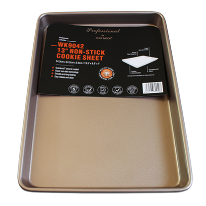"Picture of 13"" Non-Stick Cookie Sheet L34.3xW24.2xH2.5 cm. Hi Grade (GC040-9042)"